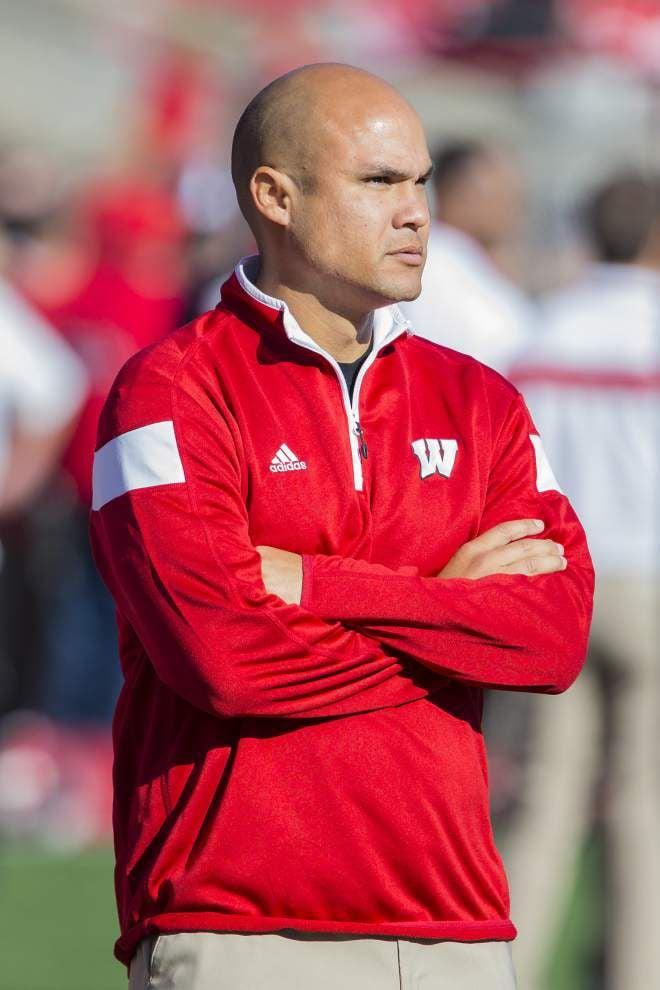 Wisconsin's Dave Aranda named LSU's new defensive coordinator _lowres