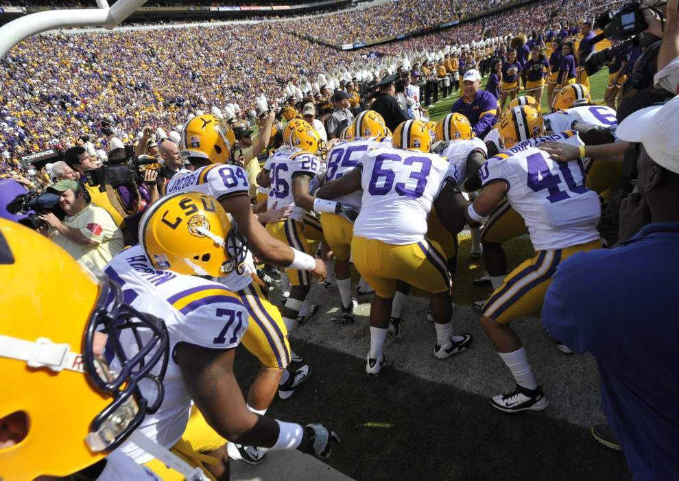 LSU AD Joe Alleva on why lightning-plagued game was canceled, called before midnight deadline _lowres