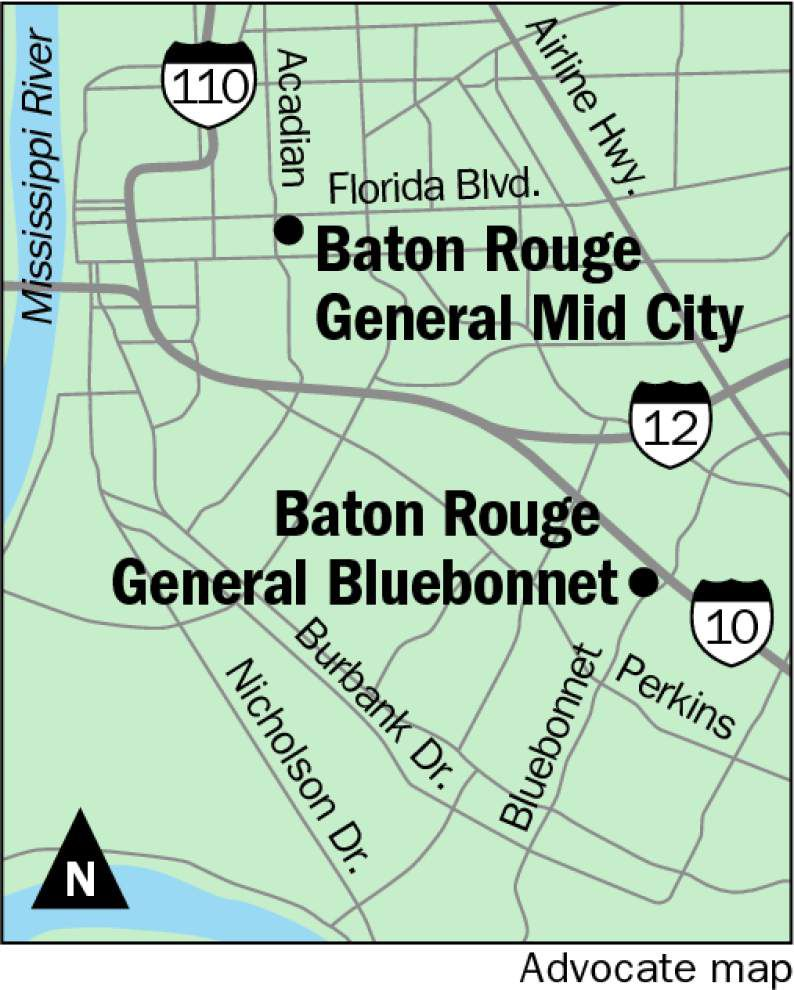 Baton Rouge General explores 'Perkins Rowe'-like addition to Bluebonnet campus, big changes for Mid City facility _lowres