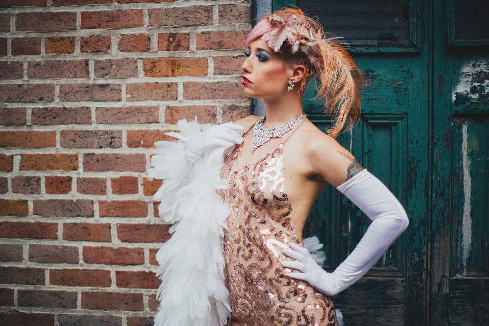 At the Snake Oil Festival, a medley of burlesque, music, art _lowres