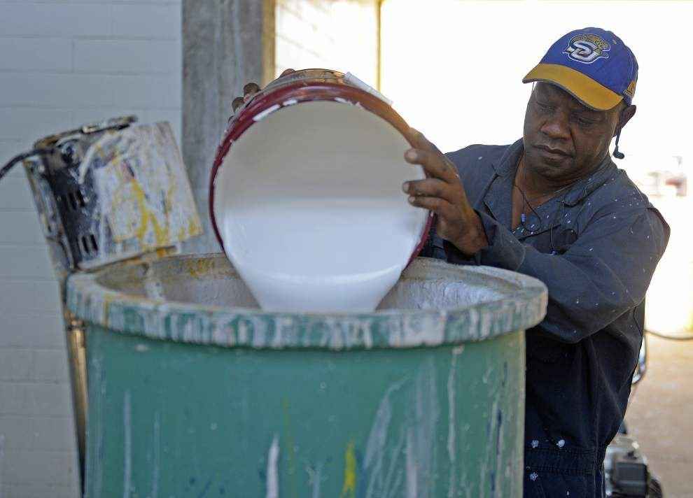 Longtime groundskeeper tried to retire, but Southern University couldn't retire him _lowres