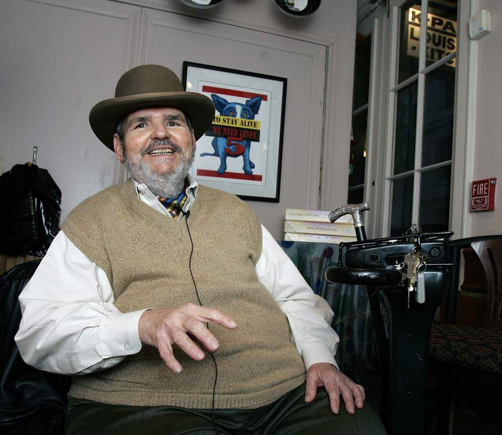 Family of late New Orleans chef Paul Prudhomme donates his cookbooks to museum _lowres