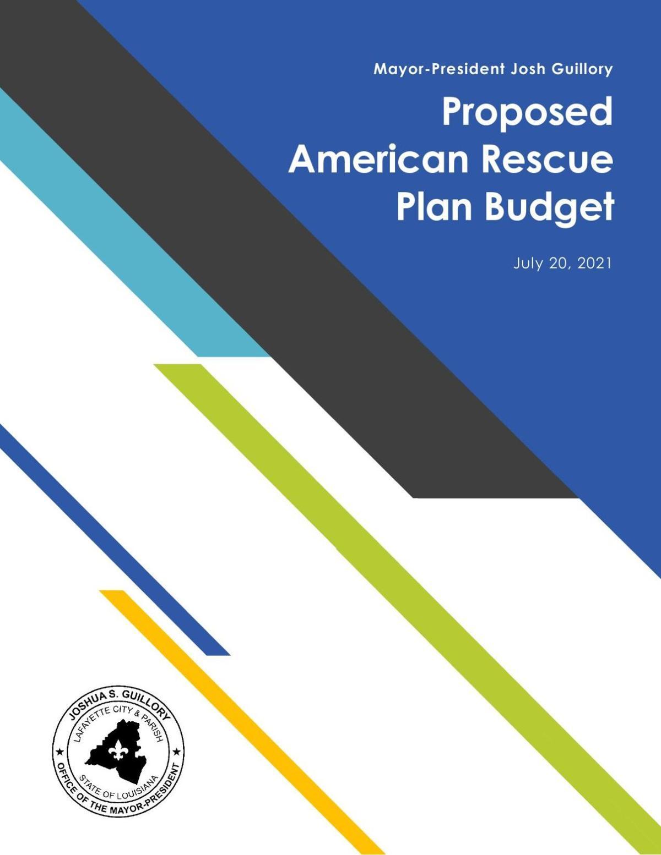 $85.7 million city/parish ARPA COVID relief plan