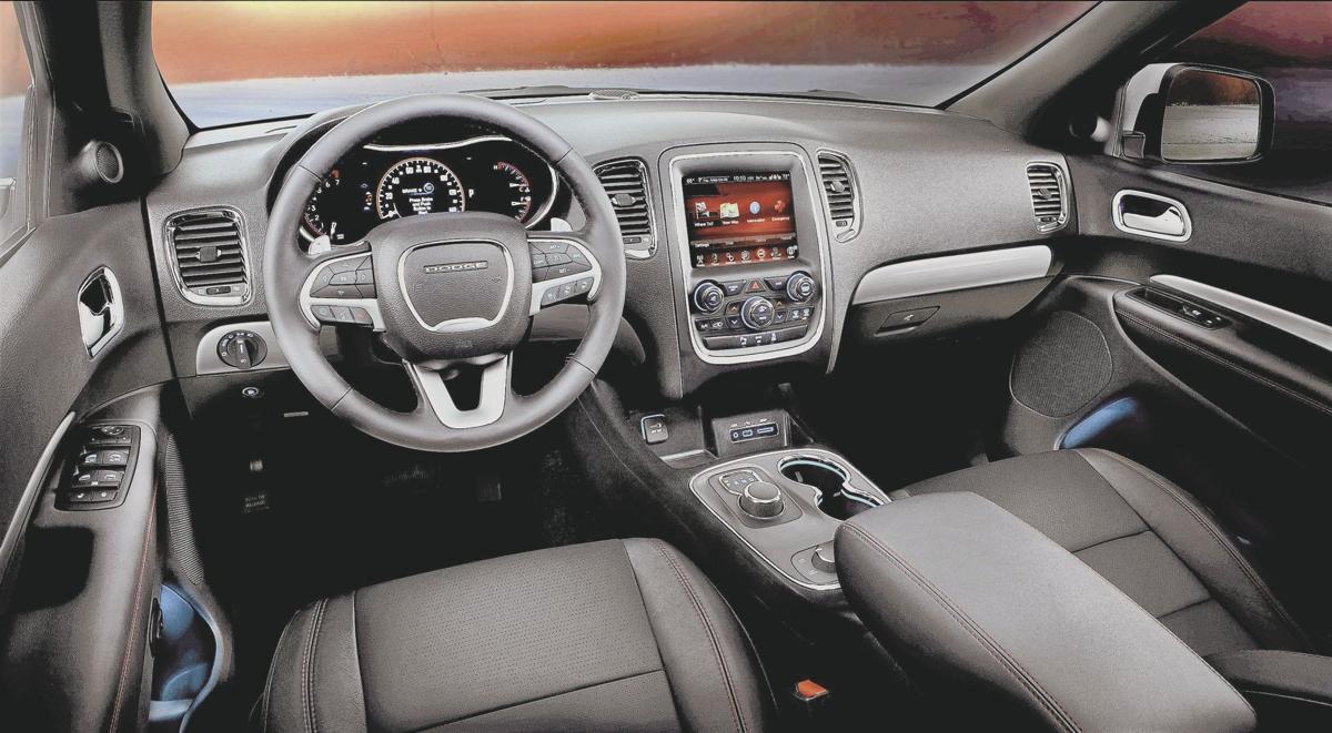 2017 dodge durango citadel cars - Dodge durango 2017 interior pictures ...
