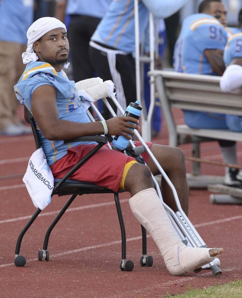 Injured Southern linebacker Demetrius Carter expected to get another year of eligibility _lowres