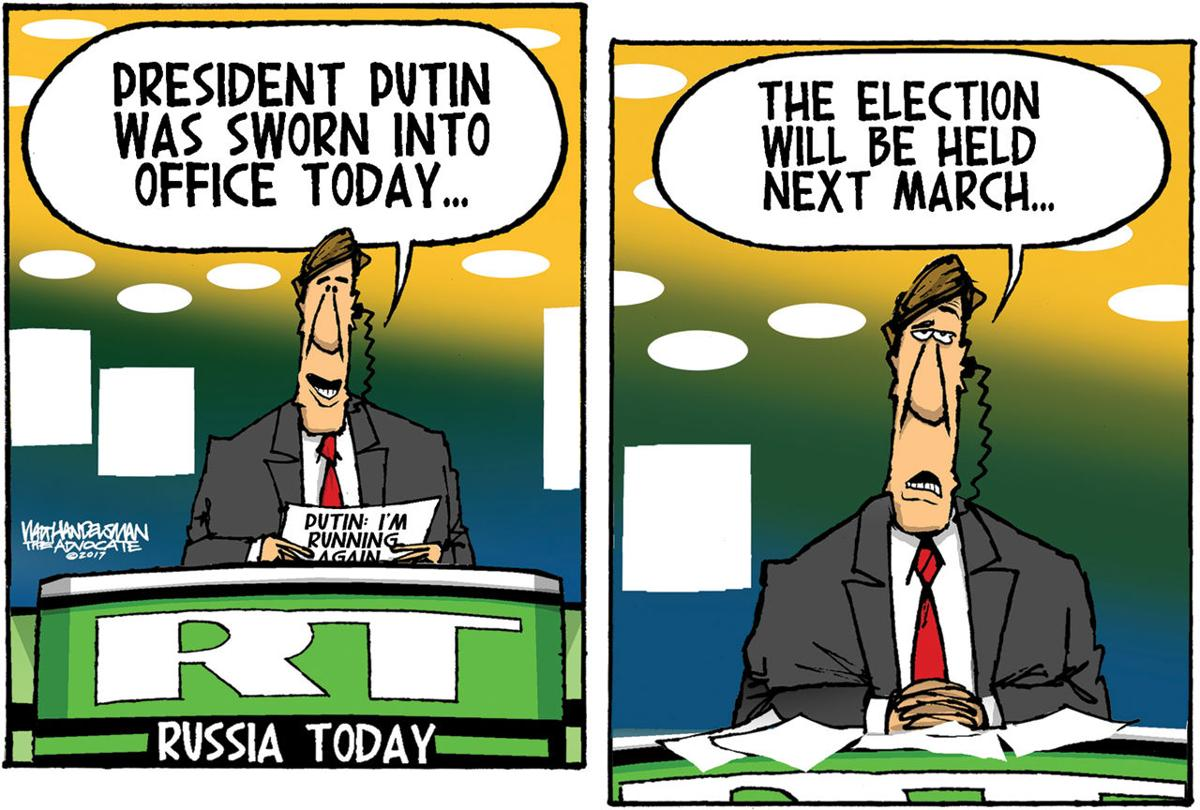 Walt Handelsman: Russian Election
