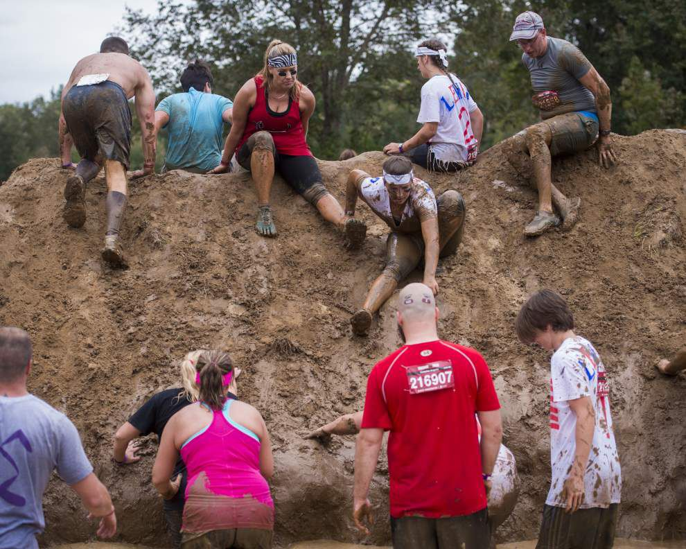 Warrior Dash in St. Francisville honors sacrifices made by everyday warriors _lowres