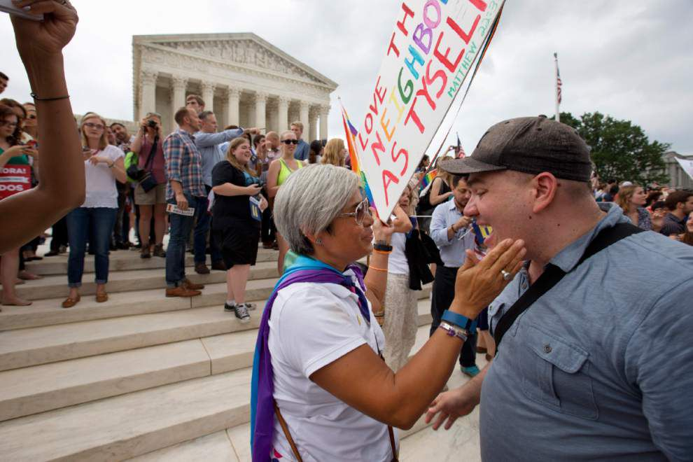 Photos: See the scene across the country as Supreme Court issues same-sex marriage ruling _lowres