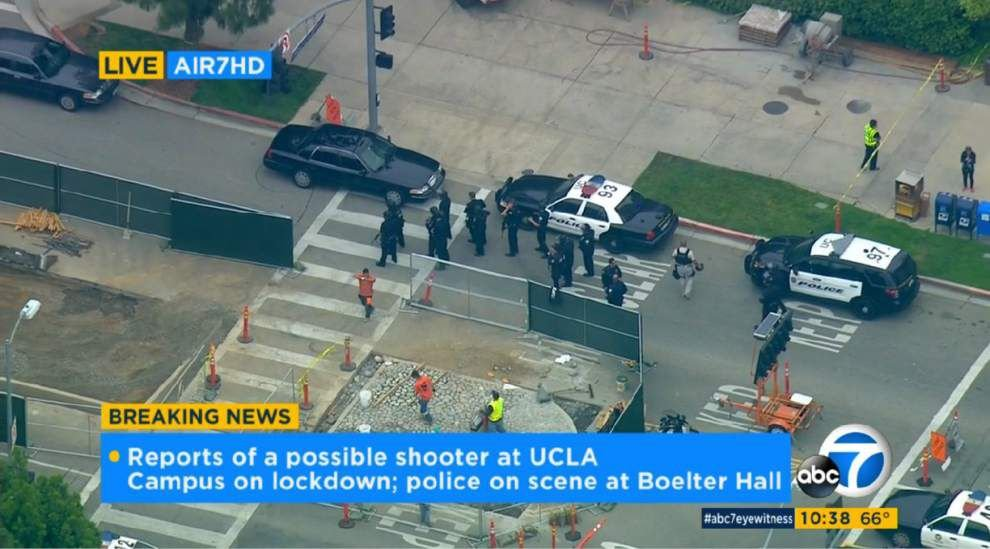 2 confirmed dead in shooting on UCLA campus Wednesday _lowres