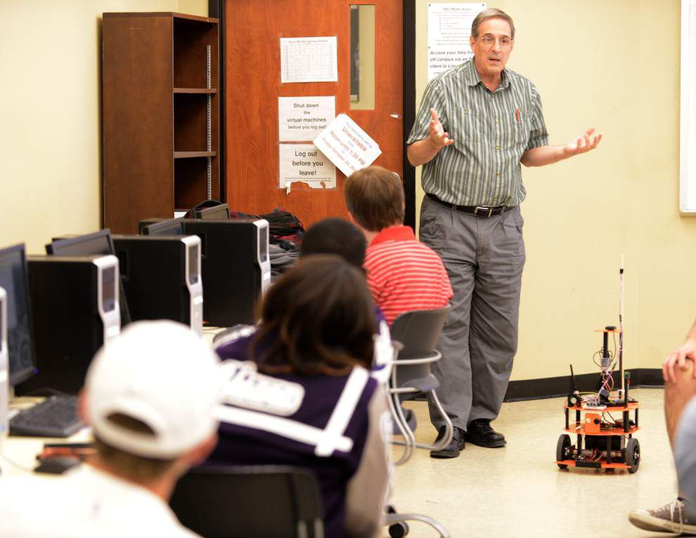'Science Day' gives students taste of campus life at UL-Lafayette _lowres