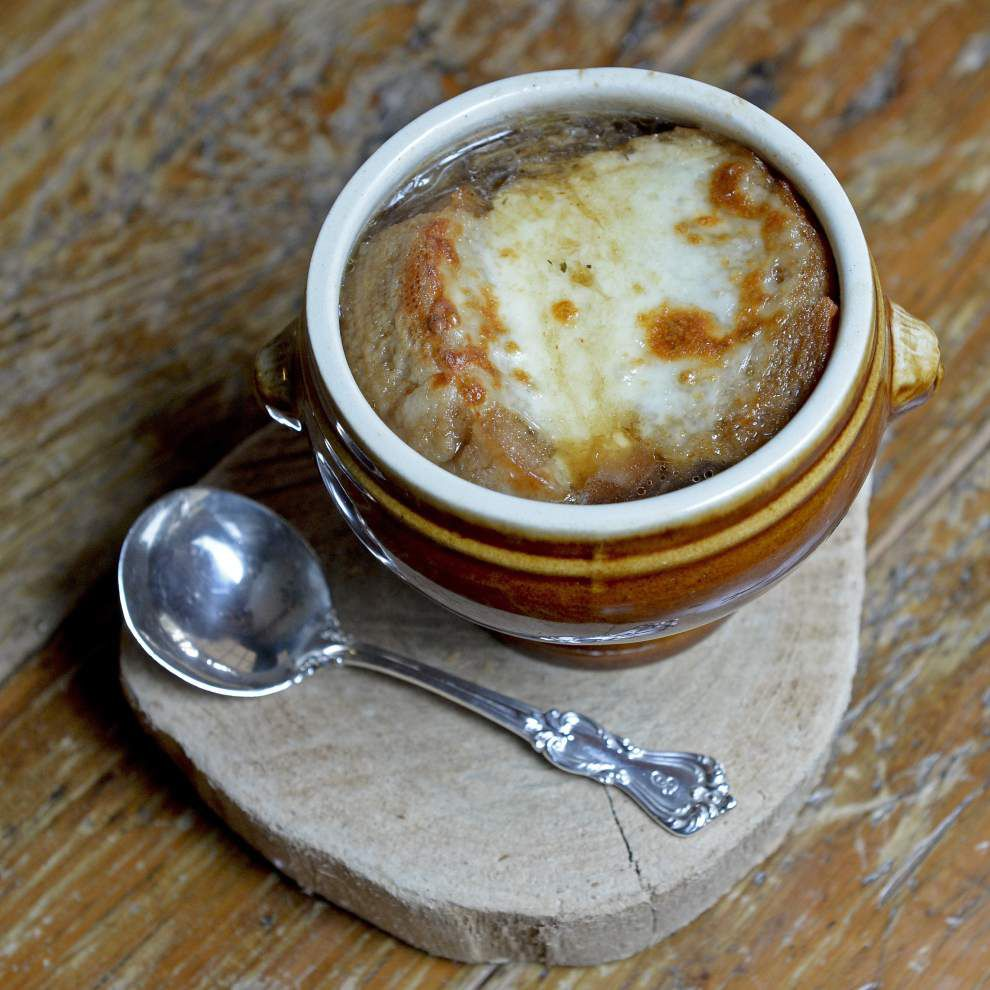Gourmet Galley: When the gumbo's gone, warm up with soup _lowres