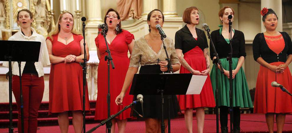 New Orleans Nightingales all-female revue alights in time for Jazz Fest _lowres