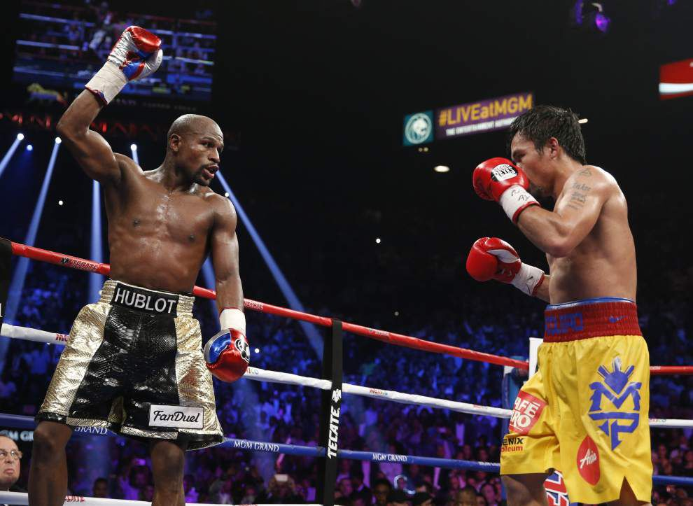 His nine-figure payday secured, Floyd Mayweather says he has one more fight in him _lowres