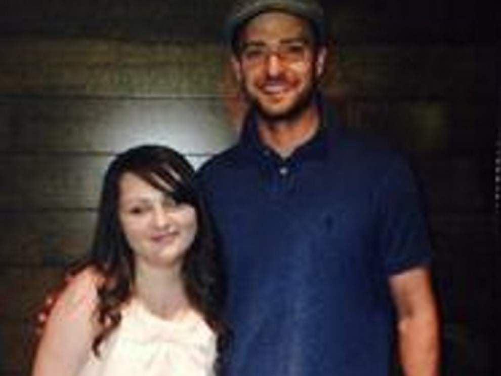 Larose teen gets heart transplant, tests it by meeting Timberlake _lowres
