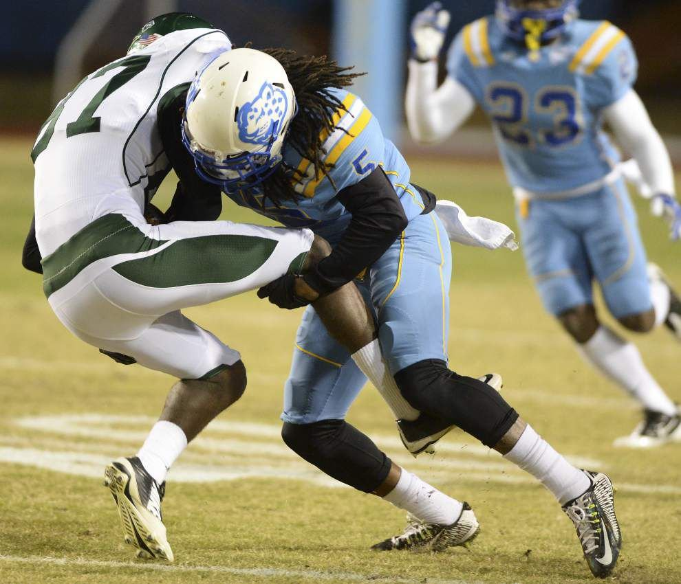 Southern turns it on in the second quarter to blitz Mississippi Valley State 44-13 _lowres