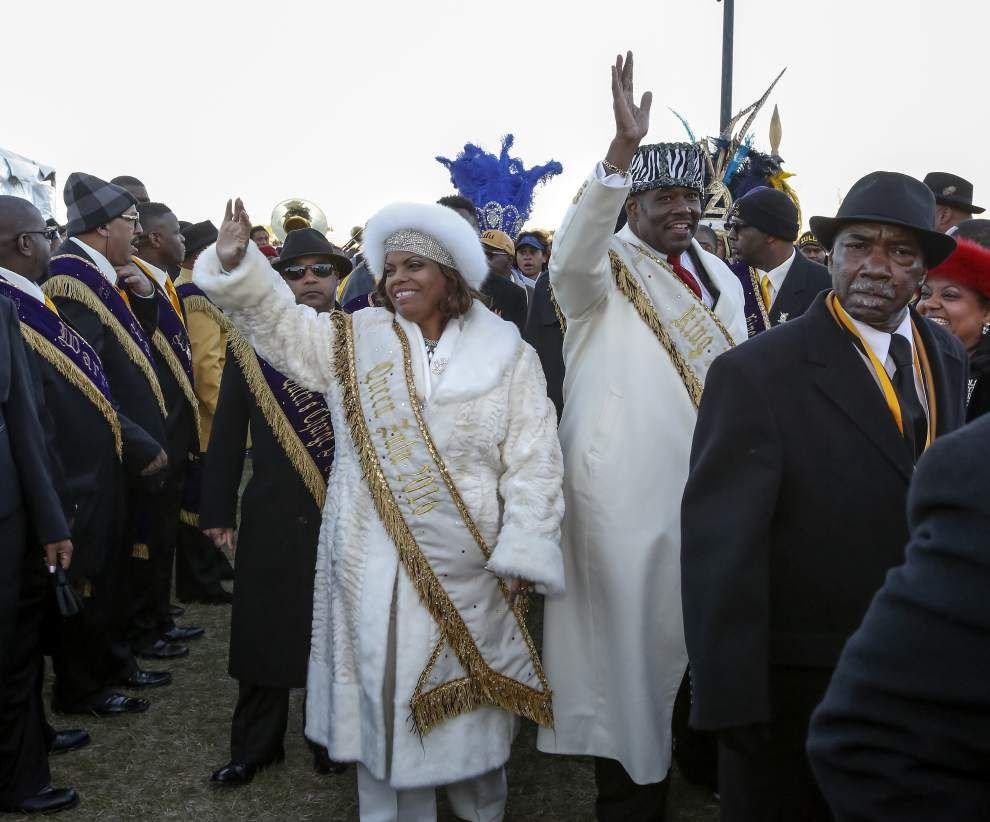 Lundi Gras no day of rest for Carnival royalty, revelers _lowres