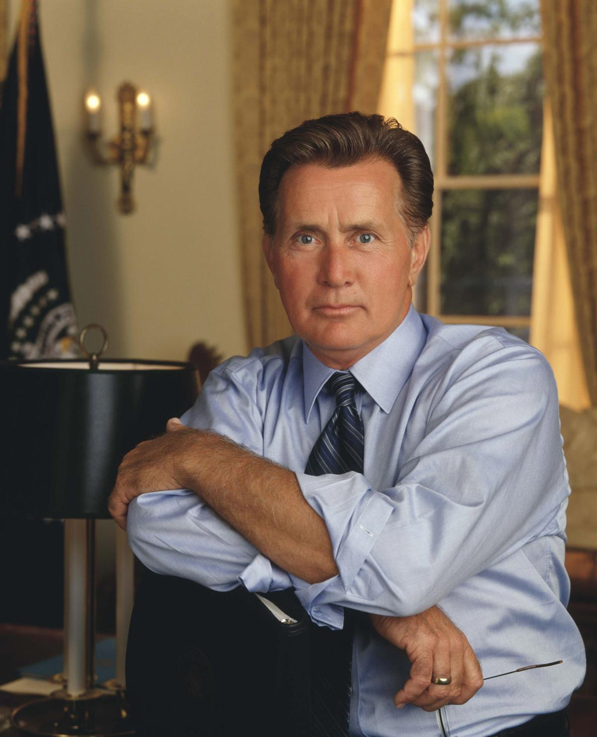 Martin Sheen in 'The West Wing' for Red