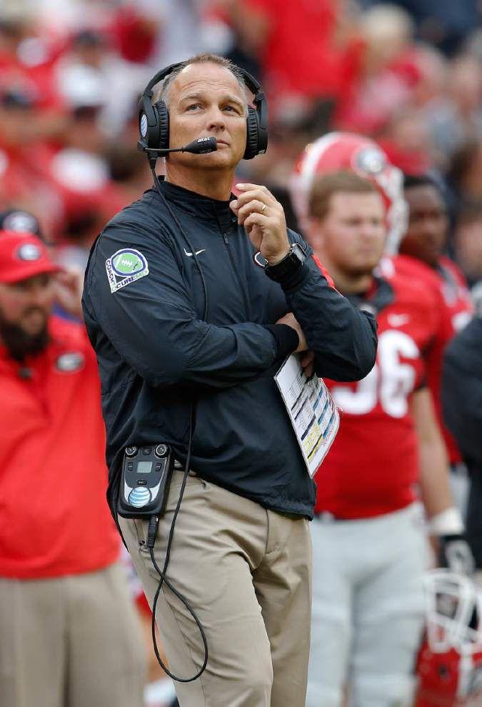 AP college football picks: Alabama is already facing playoff pressure at Georgia _lowres