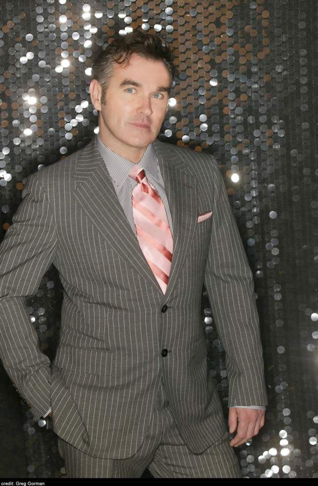 British singer Morrissey launches U.S. tour in New Orleans _lowres