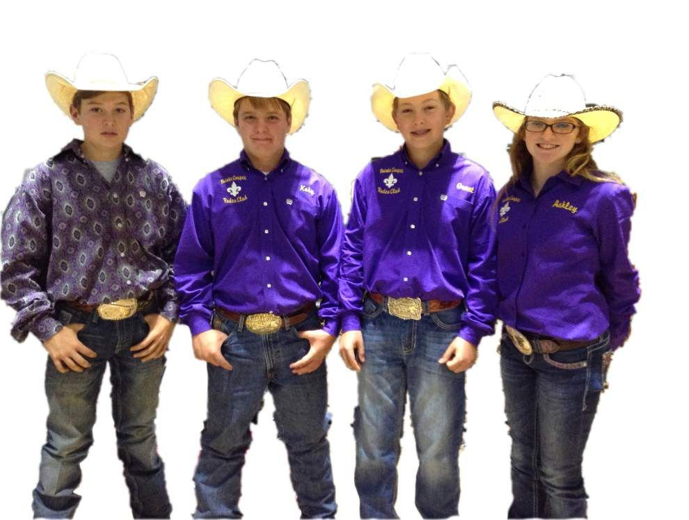 East, West Feliciana, Zachary students qualify for national Junior High Rodeo _lowres