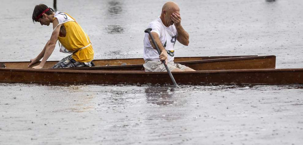 Bayou Liberty Pirogues Races, crowds appear after storm _lowres