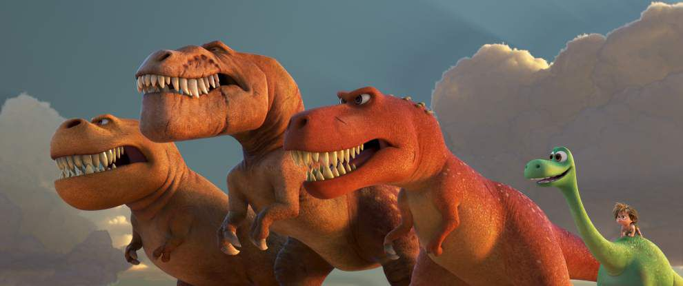Weak humor, cloying plot mar 'The Good Dinosaur' _lowres