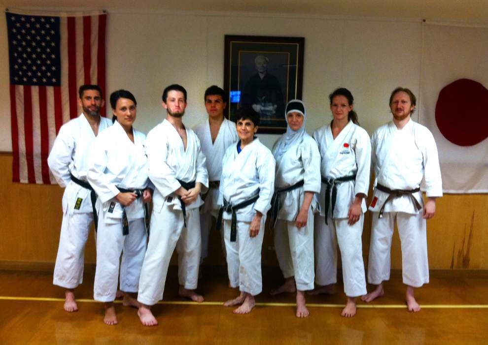 Karate team places at tournament _lowres