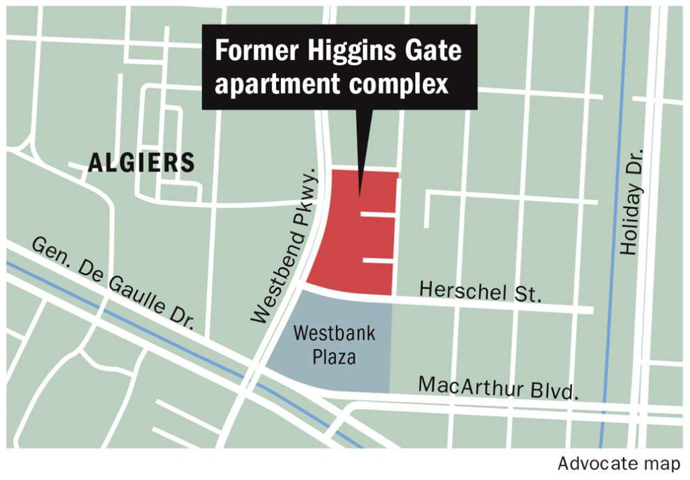 Remains of former Algiers apartment complex may finally be hauled away _lowres