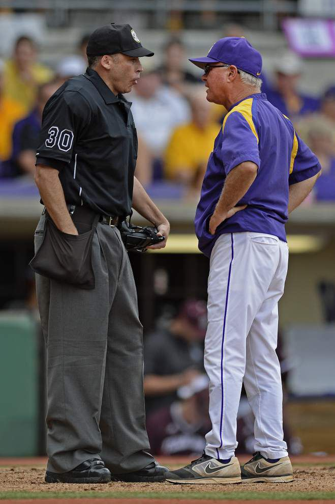 Fair or foul? In the park or out? Limited college baseball replay review could have changes ahead _lowres
