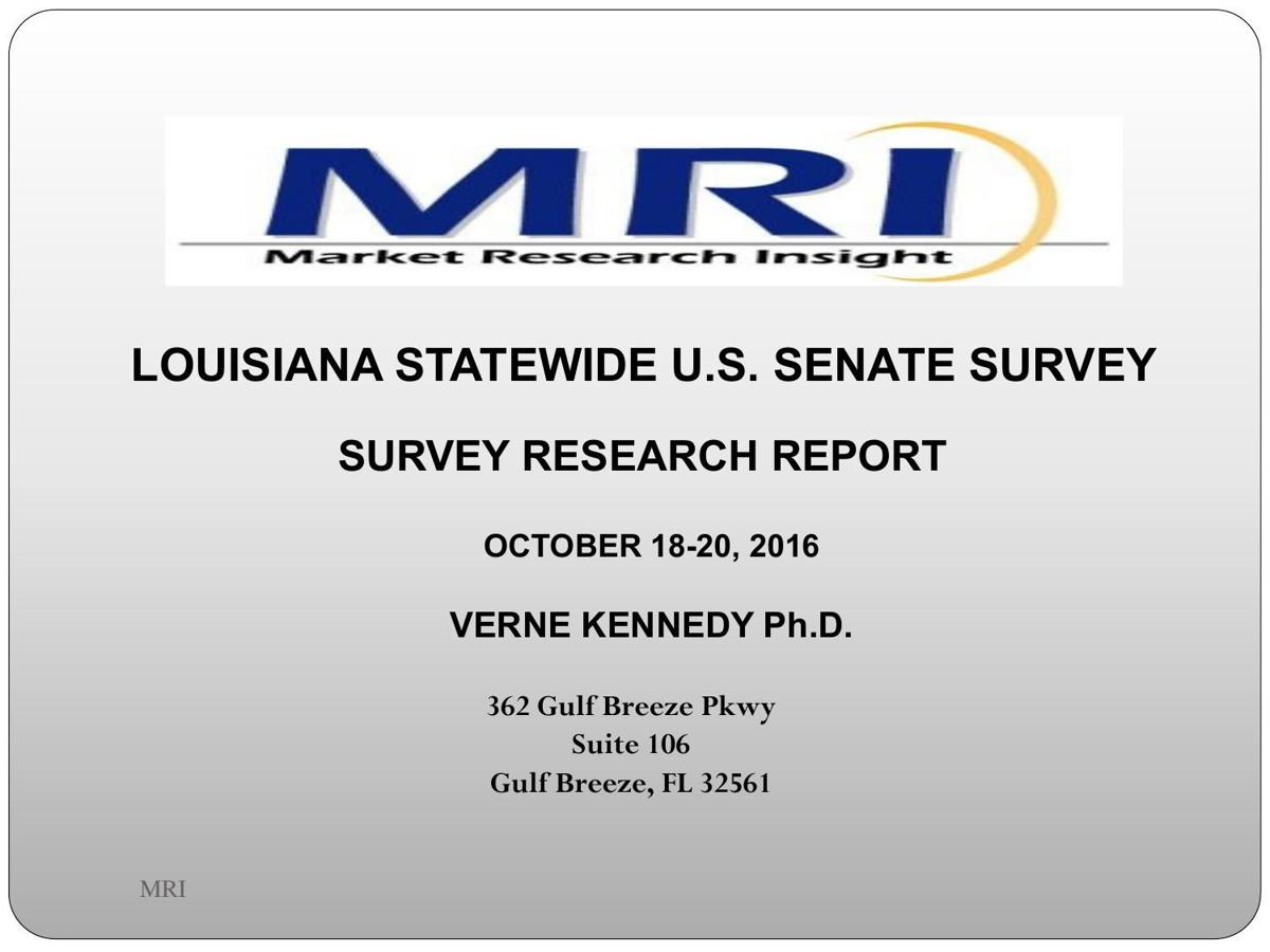 MRI US Senate Survey Oct. 26, 2016