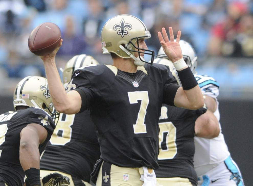 Saints quarterback Luke McCown says team 'very close,' needs to focus on positives after 0-3 start _lowres