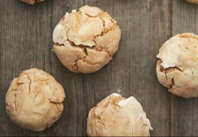 Brown Butter Cinnamon Crinkle Cookies _lowres