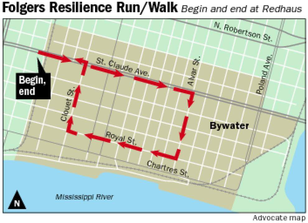 Folgers Resilience Run/Walk to bring New Orleans together on Katrina's 10th anniversary _lowres