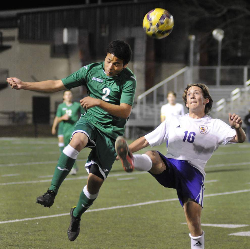 Boys soccer playoffs: Grace King rallies from 1-0 halftime deficit to beat Denham Springs 3-1 _lowres