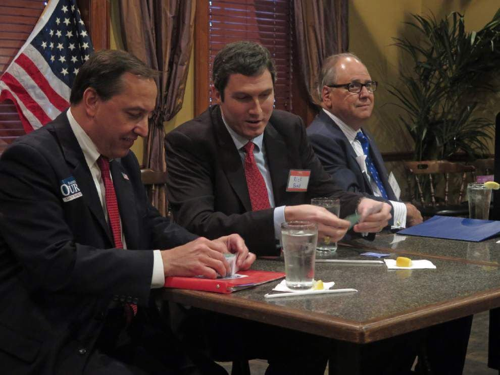 Republican candidates for open House seat participate in GOP forum _lowres