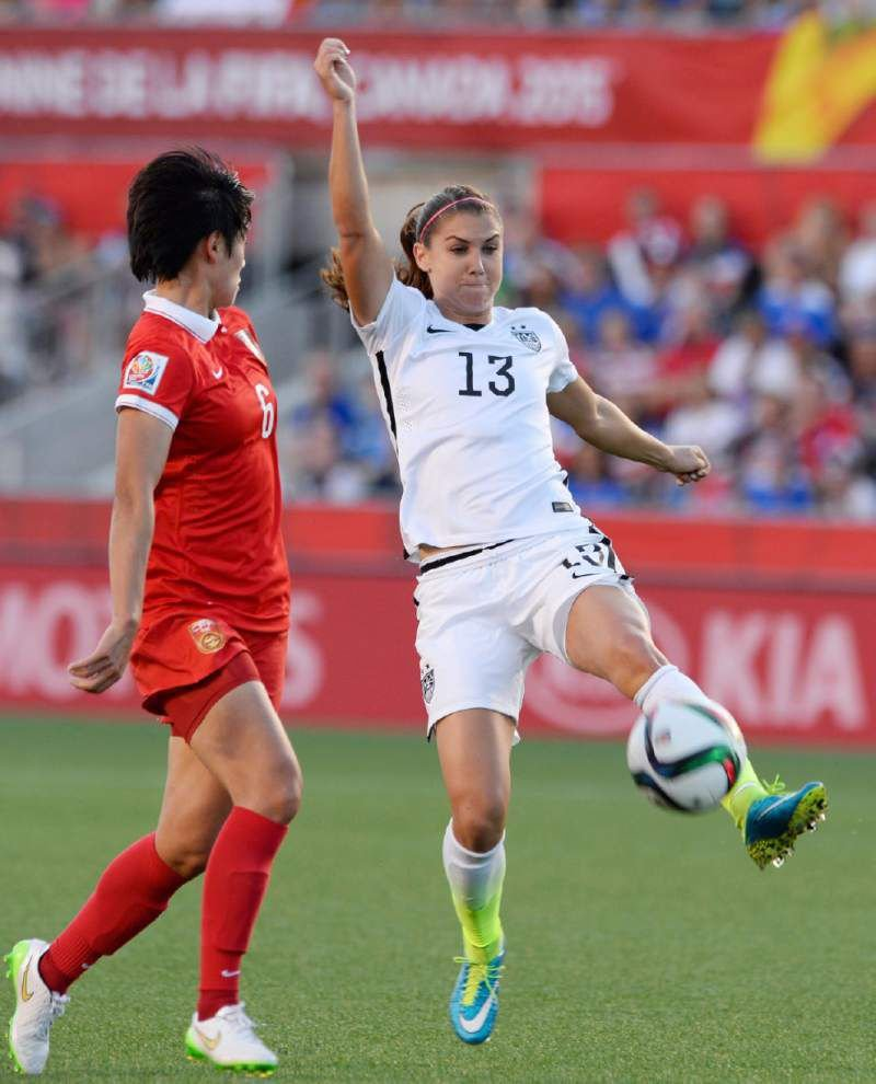 Carli Lloyd's goal lifts U.S. past China 1-0, into Women's World Cup semifinals _lowres