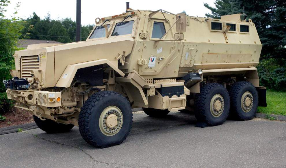 Small La. police departments packing high-powered, military-grade munitions _lowres