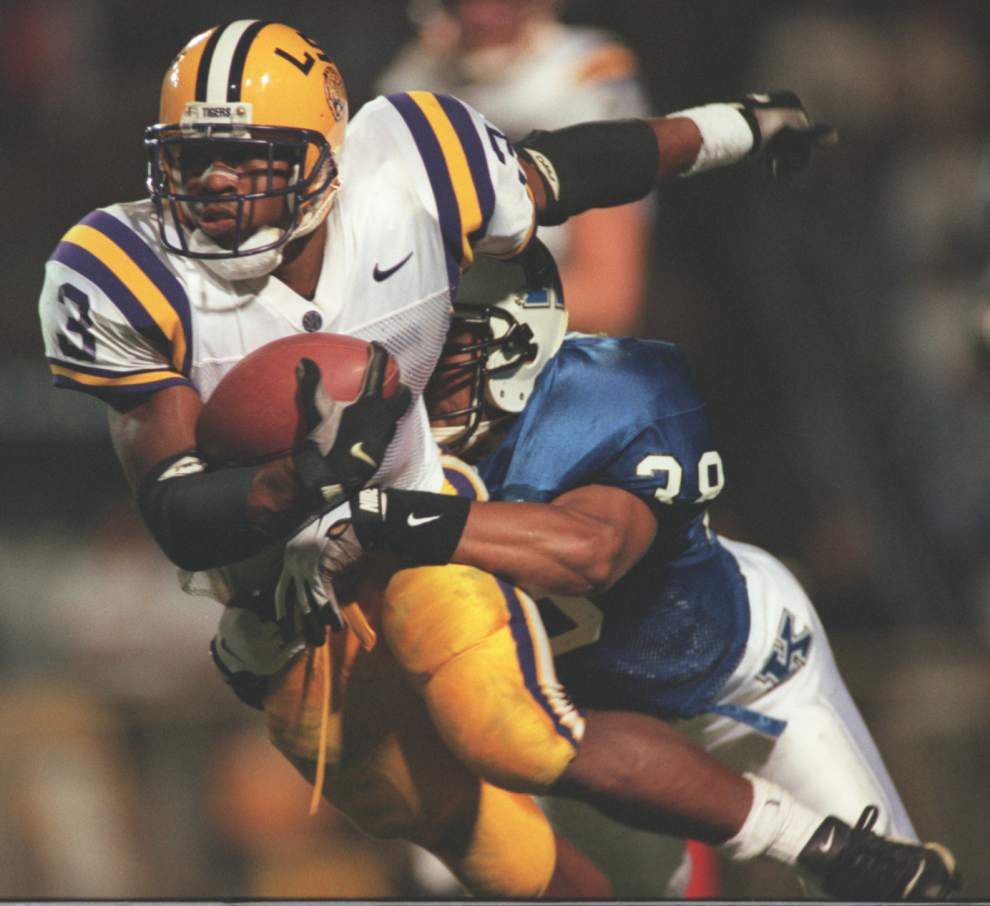 From high school icon to LSU star to Super Bowl champ, Kevin Faulk could handle it all _lowres