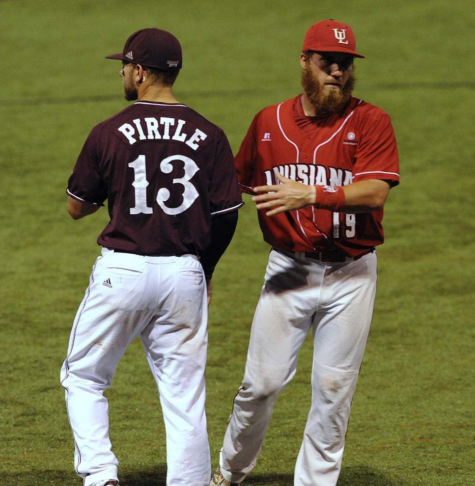 Photos: UL-Lafayette defeats Mississippi State 5-3 _lowres