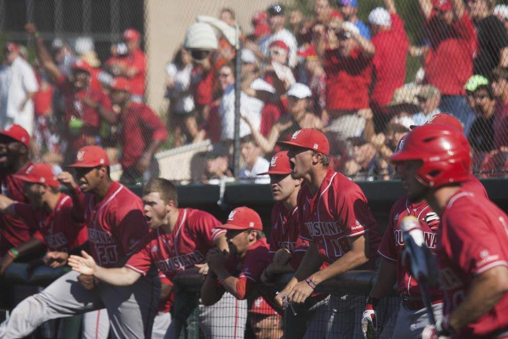 Cajuns rally for 5 runs in the 9th inning, stun Rice 7-6 in Houston regional opener _lowres