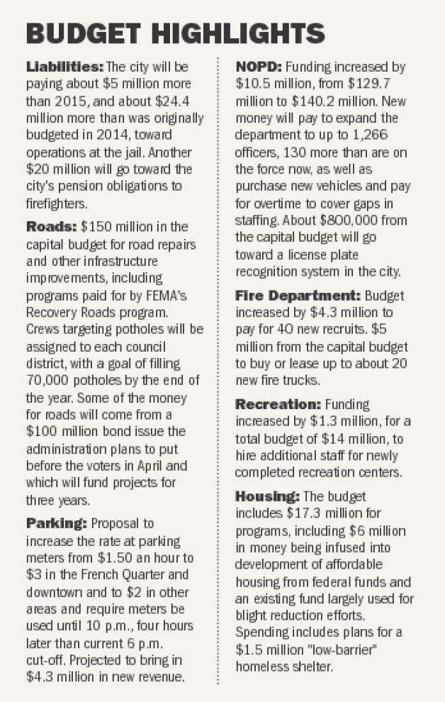 New Orleans to earn record revenue in 2016; police, firefighters, jail, street repairs to be among beneficiaries _lowres