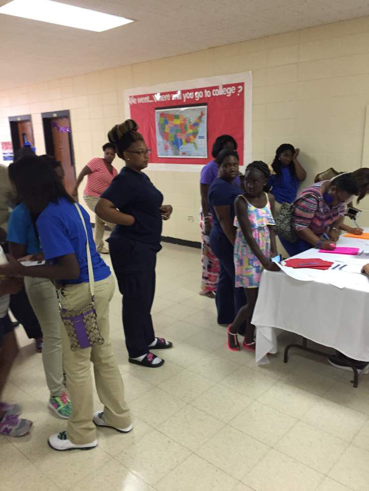 East Feliciana Middle explains vision, goals at open house _lowres