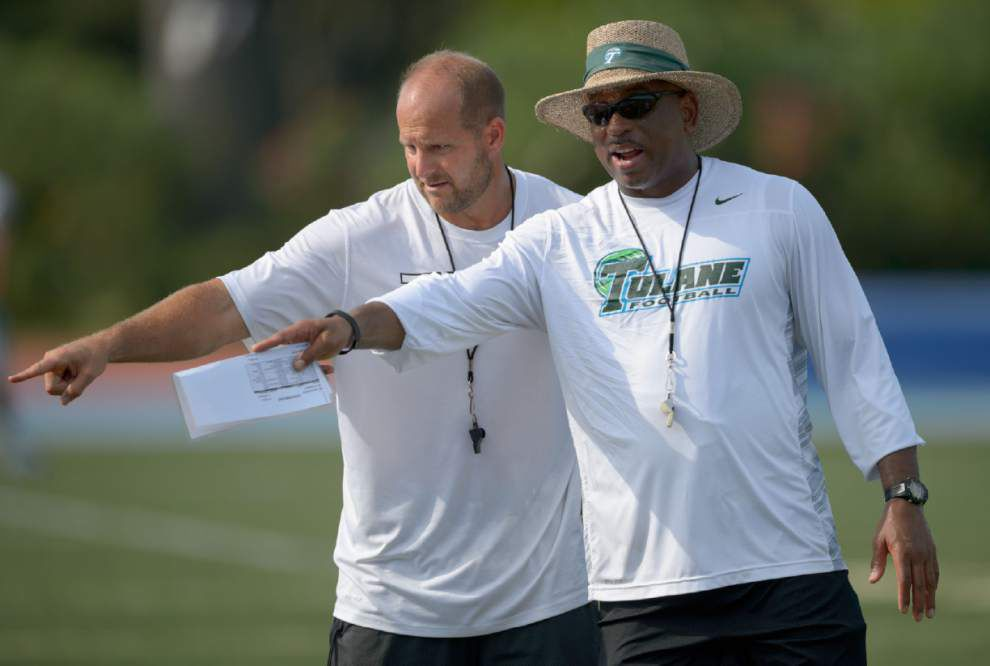 Tulane has mock game as season nears _lowres