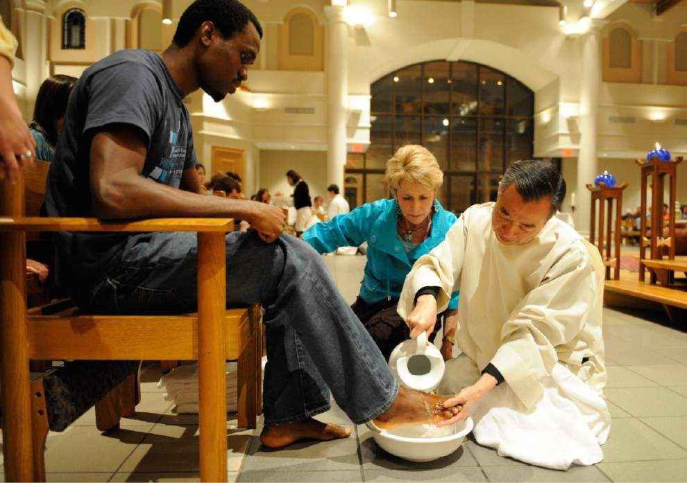 Photos: Rev. Than Vu through the years: From leading mass to serving Baton Rouge community _lowres
