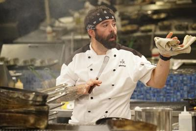 Chris Motto Gets New Jacket Hell S Kitchen Airs At 8
