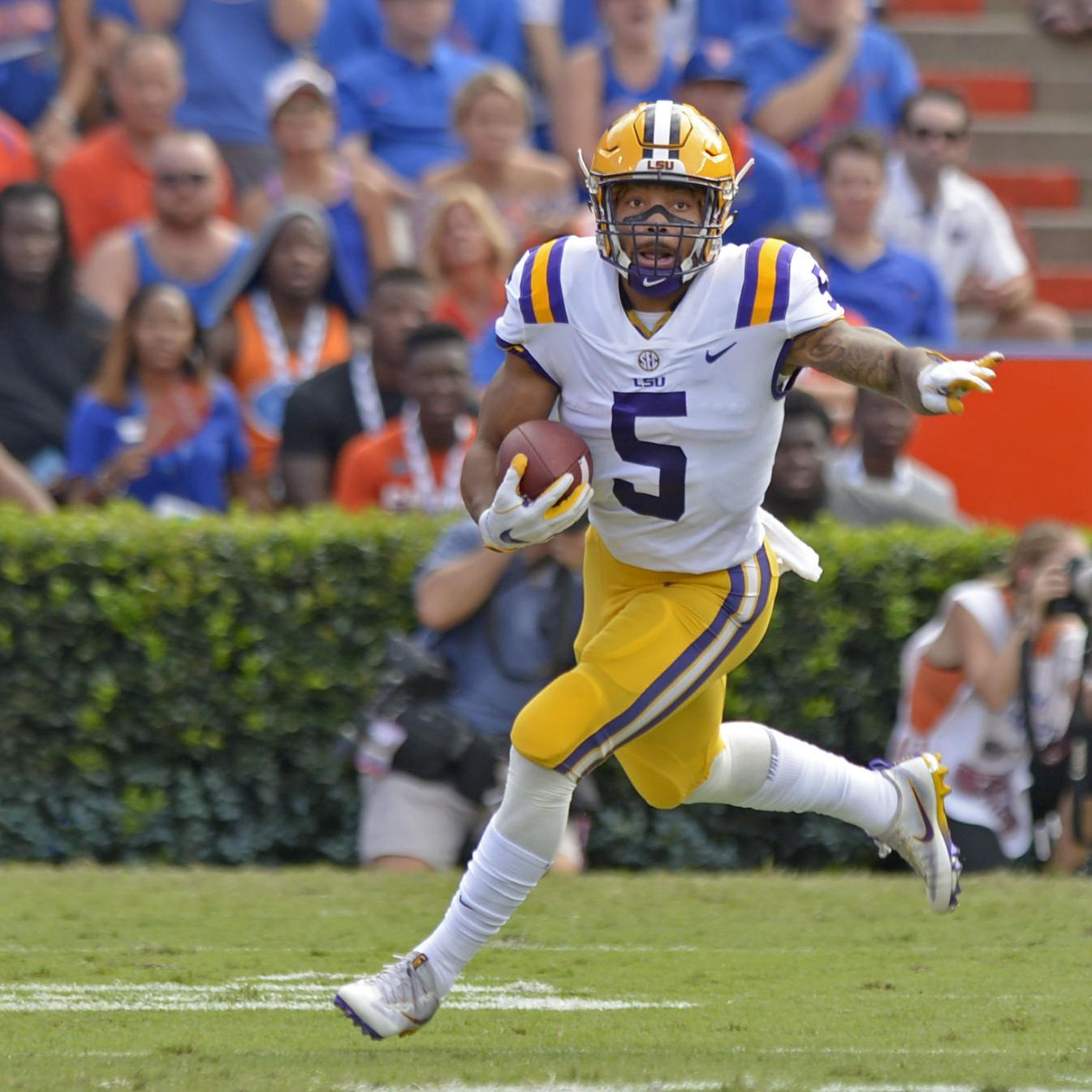 LSU RB Derrius Guice still limited with 'nagging injury,' Ed Orgeron said; Arden Key down to 255 pounds | LSU | theadvocate.com