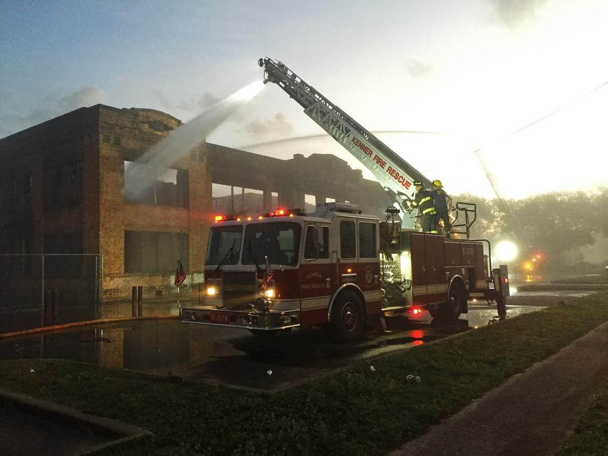 Former Kenner High School heavily damaged in fire; arson to be ...