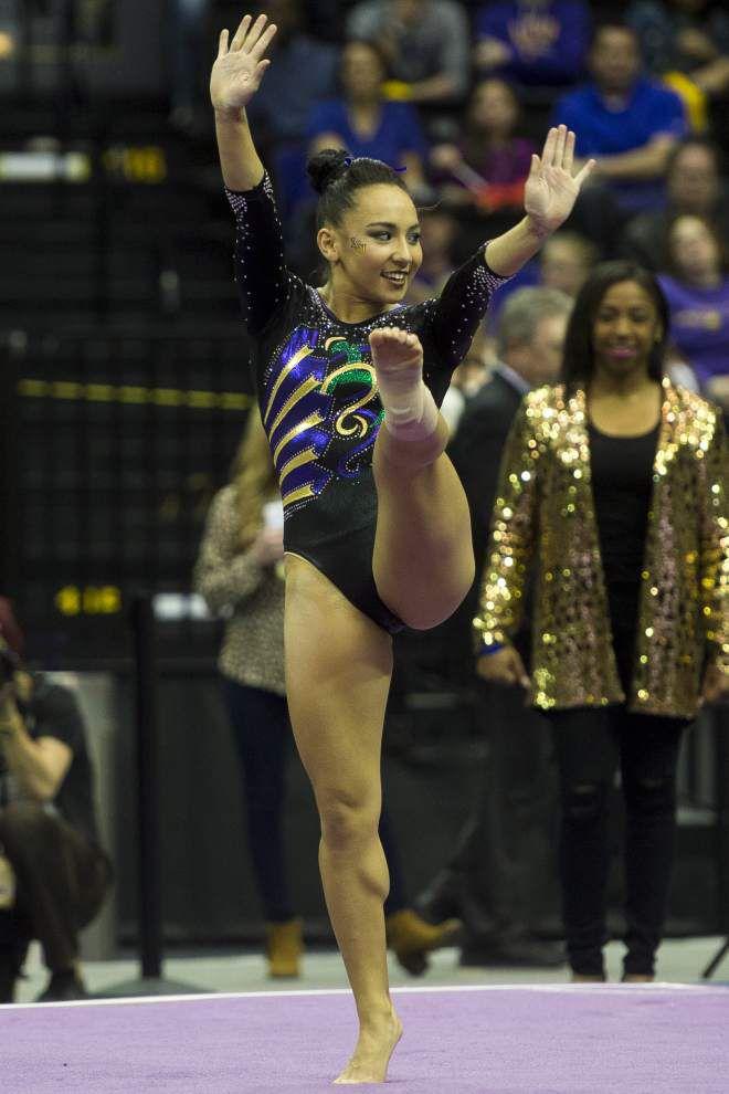 LSU's Mia Hambrick named SEC Gymnast of the Week _lowres