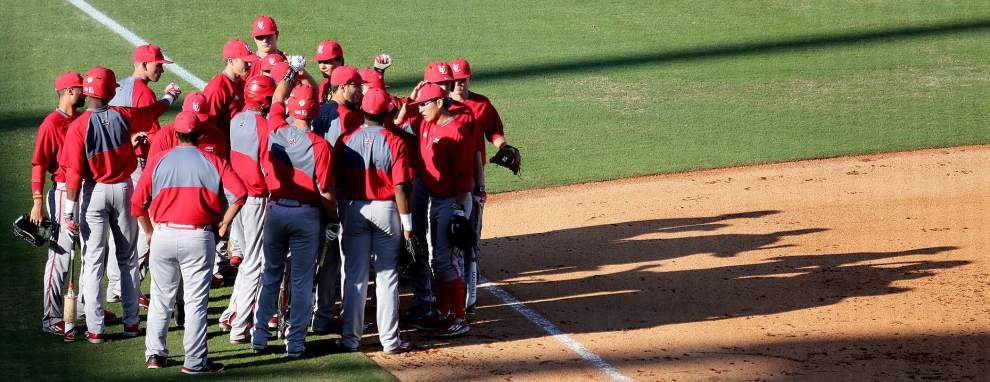 Cajuns pitcher Evan Guillory's out-pitch goes AWOL _lowres