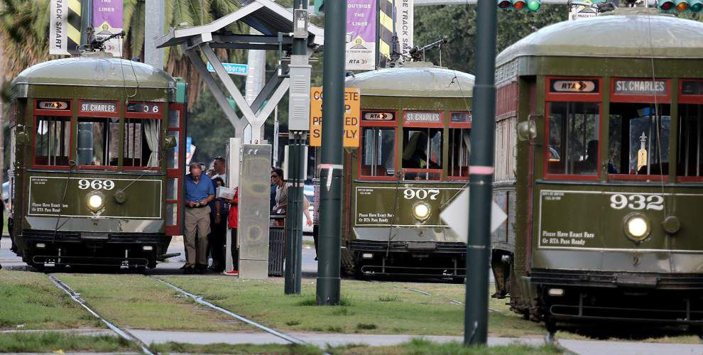 St. Charles Avenue streetcar line named a National Historic Landmark _lowres